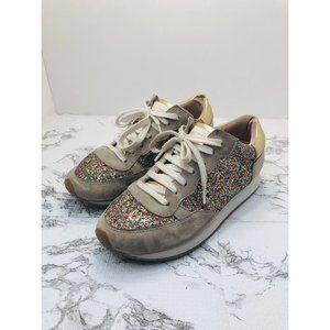 Kate Spade Felicia Glitter Sneakers 6.5